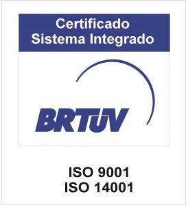 ISO 9001 e 14001 – Logo Azul